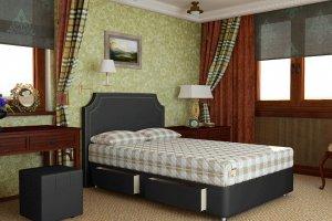 Кровать с матрасом Set R - Мебельная фабрика «Мистер Матрас»