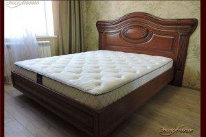 Кровать с медальоном Весты - Мебельная фабрика «Эксклюзив»