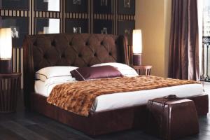 Кровать с мягким изголовьем - Мебельная фабрика «Мастерская Мебели БАРОККО»