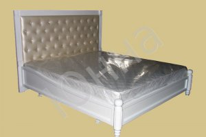 Кровать с мягким изголовьем - Мебельная фабрика «ЮННА»