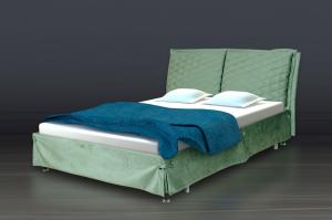Кровать с мягким изголовьем АФИНА - Мебельная фабрика «PERFECT»