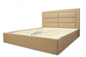 Кровать с мягким изголовьем АК 004 - Мебельная фабрика «Аллант»