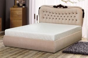 Кровать с мягким изголовьем Анабель - Мебельная фабрика «Селена»