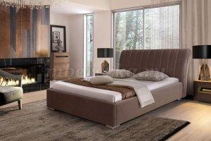 Кровать с мягким изголовьем и обивкой Джулия - Мебельная фабрика «Березка»