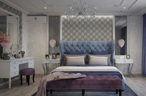 Кровать с мягким изголовьем Italia - Мебельная фабрика «КРИСТИ»