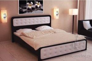 Кровать с мягким изголовьем Неро - Мебельная фабрика «ПМК Стрелец»