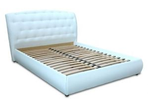 Кровать с мягким изголовьем Романья - Мебельная фабрика «Мебель для Вашей Семьи (МВС)»