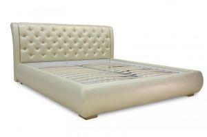 Кровать с мягким изголовьем Санторини - Мебельная фабрика «Аллант»
