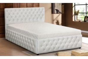 Кровать с мягким изголовьем Шик - Мебельная фабрика «Селена»