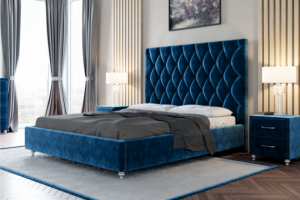 Кровать с мягким изголовьем Тиффани - Мебельная фабрика «Интерика»