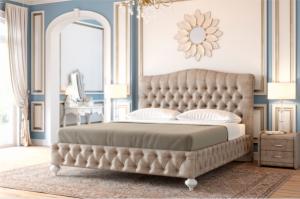 Кровать с мягким изголовьем Верона - Мебельная фабрика «Интерика»