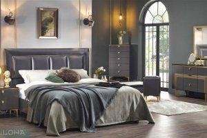 Кровать с мягкой спинкой Карлино - Импортёр мебели «Bellona (Турция)»