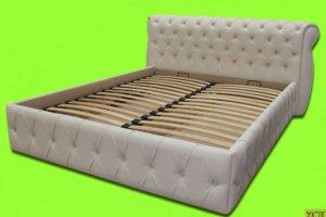 Кровать с подъемным механизмом 6-М - Мебельная фабрика «Уют»