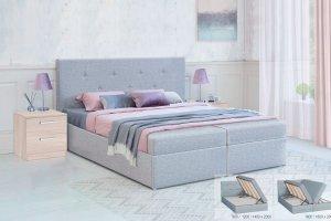 Кровать с подъемным механизмом Дуэт - Мебельная фабрика «Боровичи-Мебель»