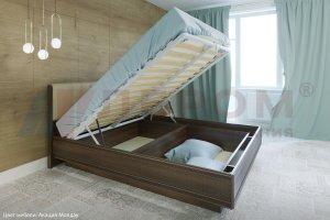 Кровать с подъемным механизмом Карина КР-1011 - Мебельная фабрика «Лером»