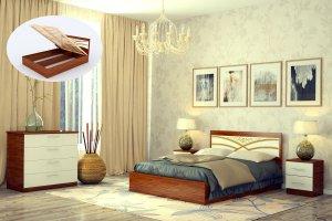 Кровать с подъемным механизмом Надин - Мебельная фабрика «DM - DarinaMebel»