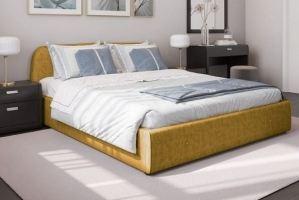 Кровать с подъемным механизмом Нелли - Мебельная фабрика «Лазурит»