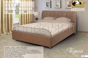Кровать с подъемным механизмом Прага - Мебельная фабрика «Панда»