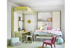 Кровать с подъемным механизмом SkyBed 900 - Мебельная фабрика «СМ Вектор»