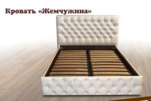 Кровать с подъемным механизмом Жемчужина - Мебельная фабрика «Кредо»