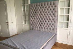 Кровать с подголовником Аура 9 - Мебельная фабрика «AURA Interiors»