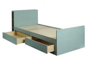 Кровать с полками - Мебельная фабрика «Новодвинская мебельная фабрика»