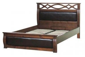 Кровать с резной спинкой Валенсия - Мебельная фабрика «Святогор Мебель»