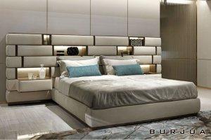 Кровать с увеличенным изголовьем Emotion - Мебельная фабрика «BURJUA»