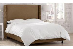 Кровать с увеличенным изголовьем Лина - Мебельная фабрика «ДЕФИ»