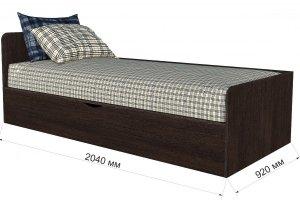 Кровать с выдвижным ящиком Анеси-3 - Мебельная фабрика «ИнтерЛиния»