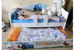 Кровать с выкатным спальным местом - Мебельная фабрика «ПМК ВиП»