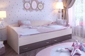 Кровать с выкатными ящиками - Мебельная фабрика «ЯРОФФ»