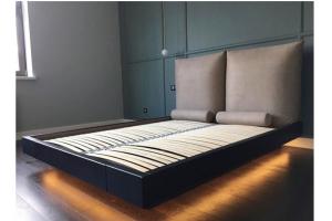 Кровать с высоким изголовьем - Мебельная фабрика «Союз мастеров»