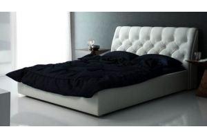 Кровать с высоким изголовьем Ариэль - Мебельная фабрика «Грин Лайн Мебель»
