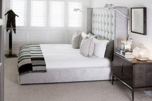 Кровать с высоким изголовьем Дольче 5 - Мебельная фабрика «ФилатоFF»