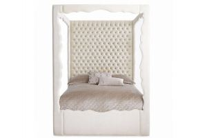 Кровать с высоким изголовьем Евросон Катрин - Мебельная фабрика «Евросон Мебель»