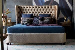 Кровать с высоким изголовьем Manchester 2 - Мебельная фабрика «Фурман»