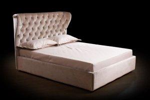 Кровать с высокой спинкой Кармен - Мебельная фабрика «Винтер-Мебель»