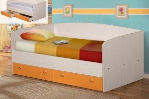 Кровать детская с ящиками - Мебельная фабрика «ДиВа мебель»