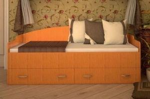 Кровать с ящиками Софа - Мебельная фабрика «ТФМ XXI»