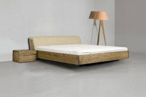 Кровать Сапфир-1 массив ясеня  - Мебельная фабрика «Диамант-М»