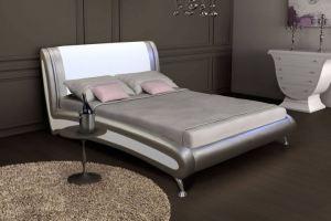 Кровать Селена с мягким изголовьем - Мебельная фабрика «Мебельный комфорт»