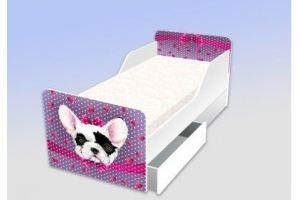 Кровать серия Классика  Француженка фиолет - Мебельная фабрика «Рим»