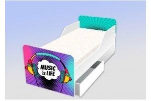 Кровать серия Классика Музыка - это жизнь - Мебельная фабрика «Рим»