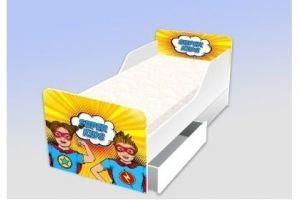 Кровать серия Классика Супер детки - Мебельная фабрика «Рим»
