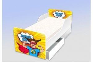 Кровать серия Классика Супер гёрл - Мебельная фабрика «Рим»