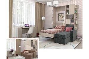 Кровать-шкаф подъемная 60 - Мебельная фабрика «Уют сервис»