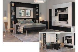 Кровать-шкаф подъемная 63 - Мебельная фабрика «Уют сервис»