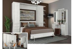 Кровать-шкаф подъемная Гарун 20 А - Мебельная фабрика «Уют сервис»
