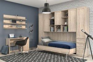 Кровать-шкаф подъемная Гарун 25 А - Мебельная фабрика «Уют сервис»